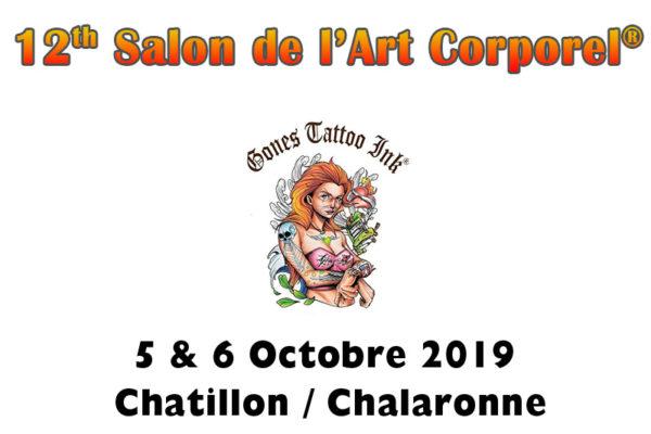 Le salon de l'Art Corporel 2019 de Châtillon-sur-Chalaronne