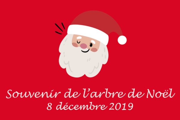 Image de l'arbre de Noël de Fleyriat 2019