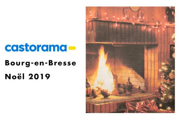 Image du noël 2019 de Castorama à Bourg-en-Bresse