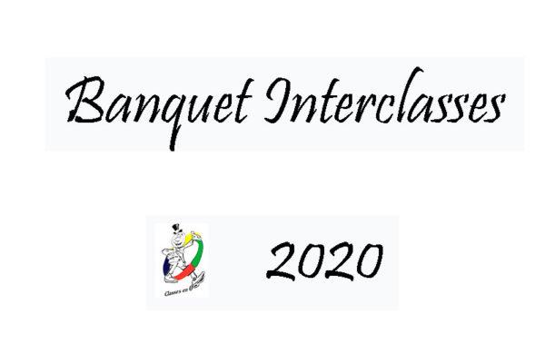 Banquet interclasse 2020 de Bourg