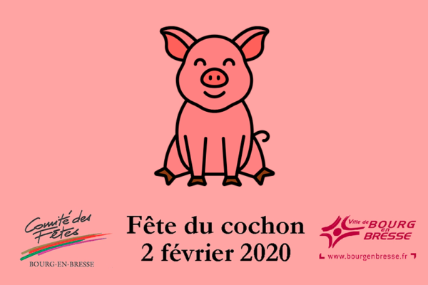 Fête du cochon 2020 à Bourg-en-Bresse