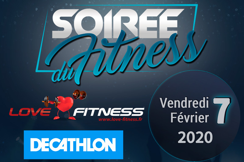 Image de la soirée du fitness Décathlon Love Fitness 2020